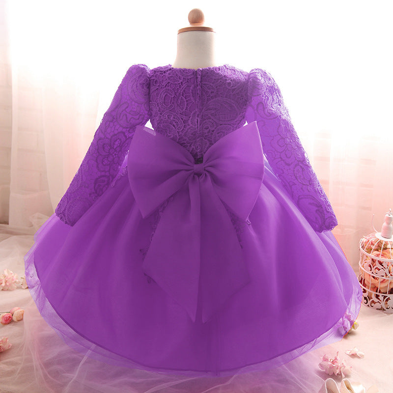 ae9056e32e53 Birthday Party Wedding Princess Dress For Baby Girls – babycl