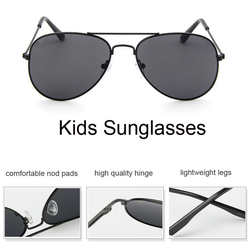 ce22c110a778 Fashion Boys Girls Baby Child 90 s Aviator Sunglasses – babycl