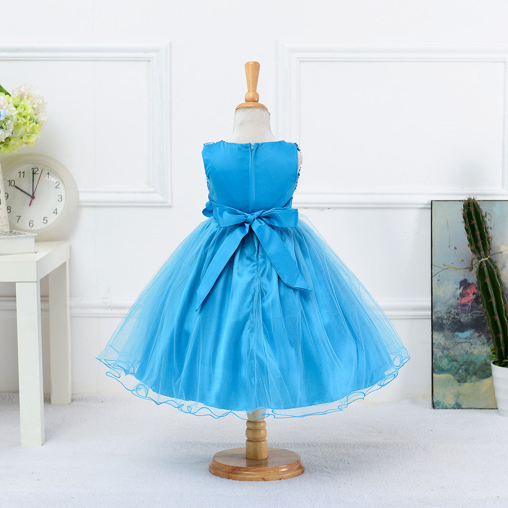 Princess Girls Dresses For Party And Wedding Baby Clothing Vestidos ...
