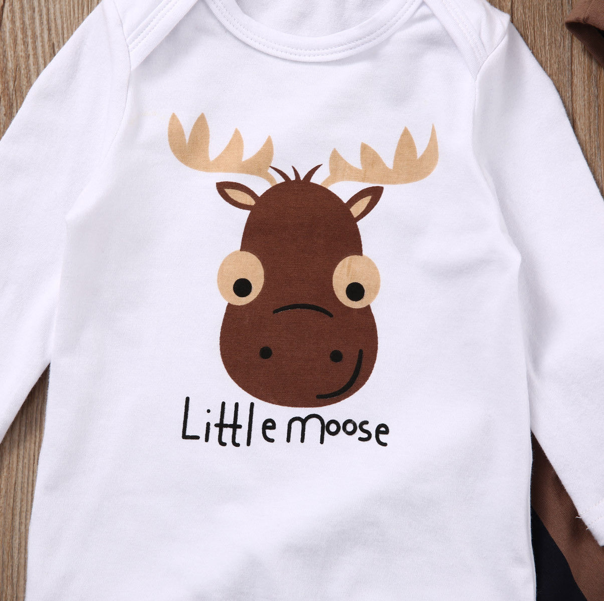 c68a932abc Little moose Newborn Baby Boy Girls Long Pants +hat Outfits – babycl