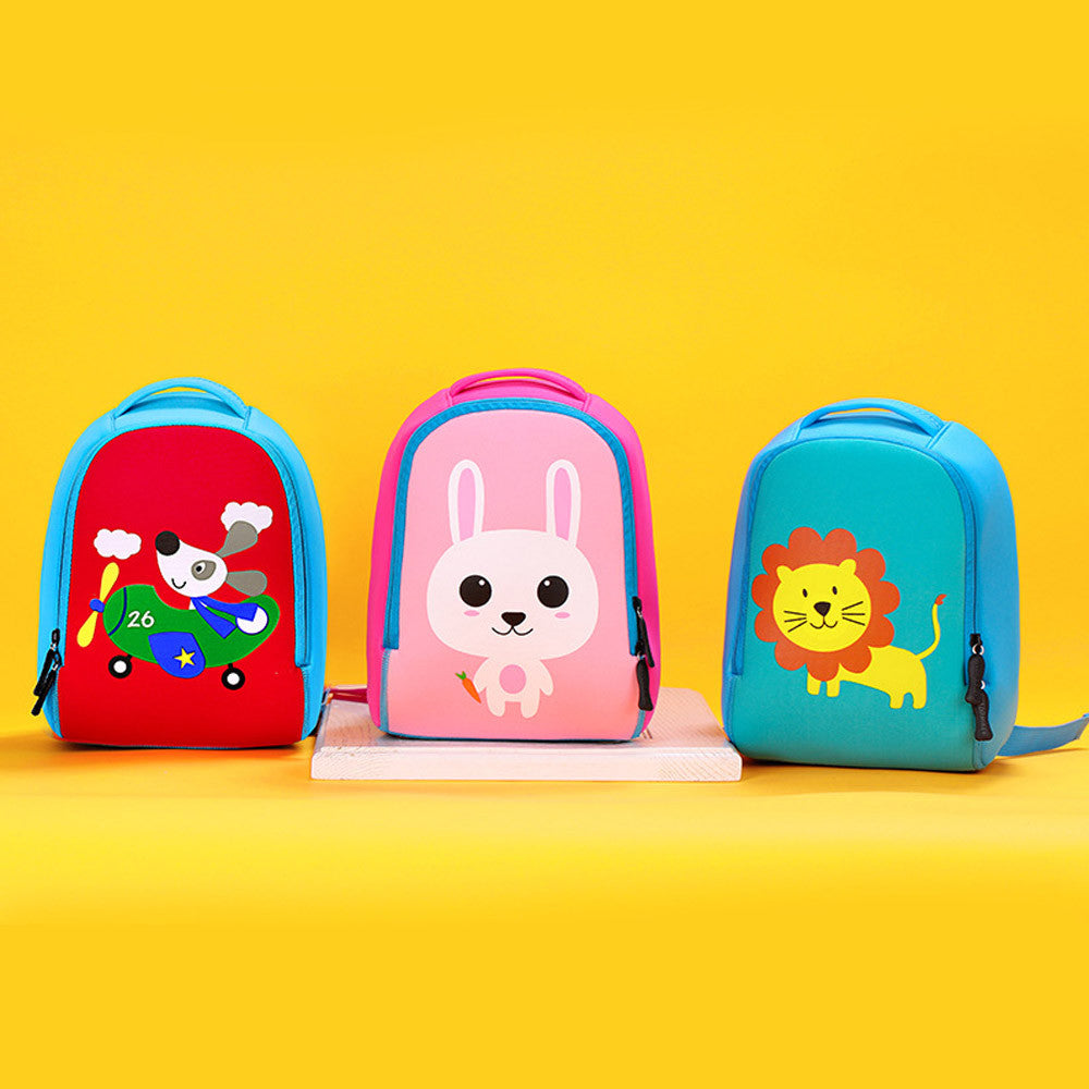cute girl boy Child 3 color animal soft Backpack Toddler Kid School ...