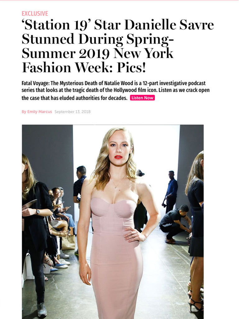 'Station 19' Star Danielle Savre Stunned During Spring-Summer 2019 New York Fashion Week: Pics!