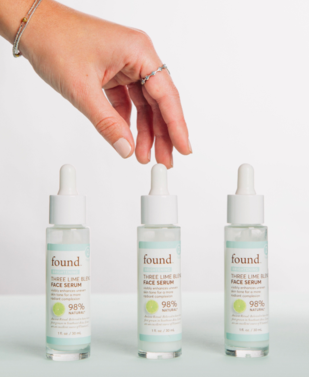 Discover Found Three Lime Blend Face Serum