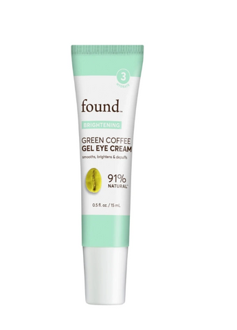 Discover Found Green Coffee Gel Eye Cream