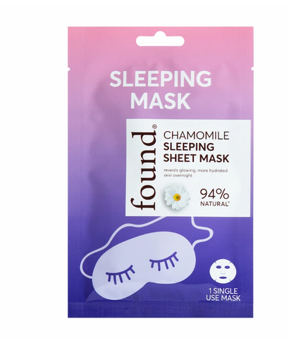 Chamomile Sleeping Sheet Mask