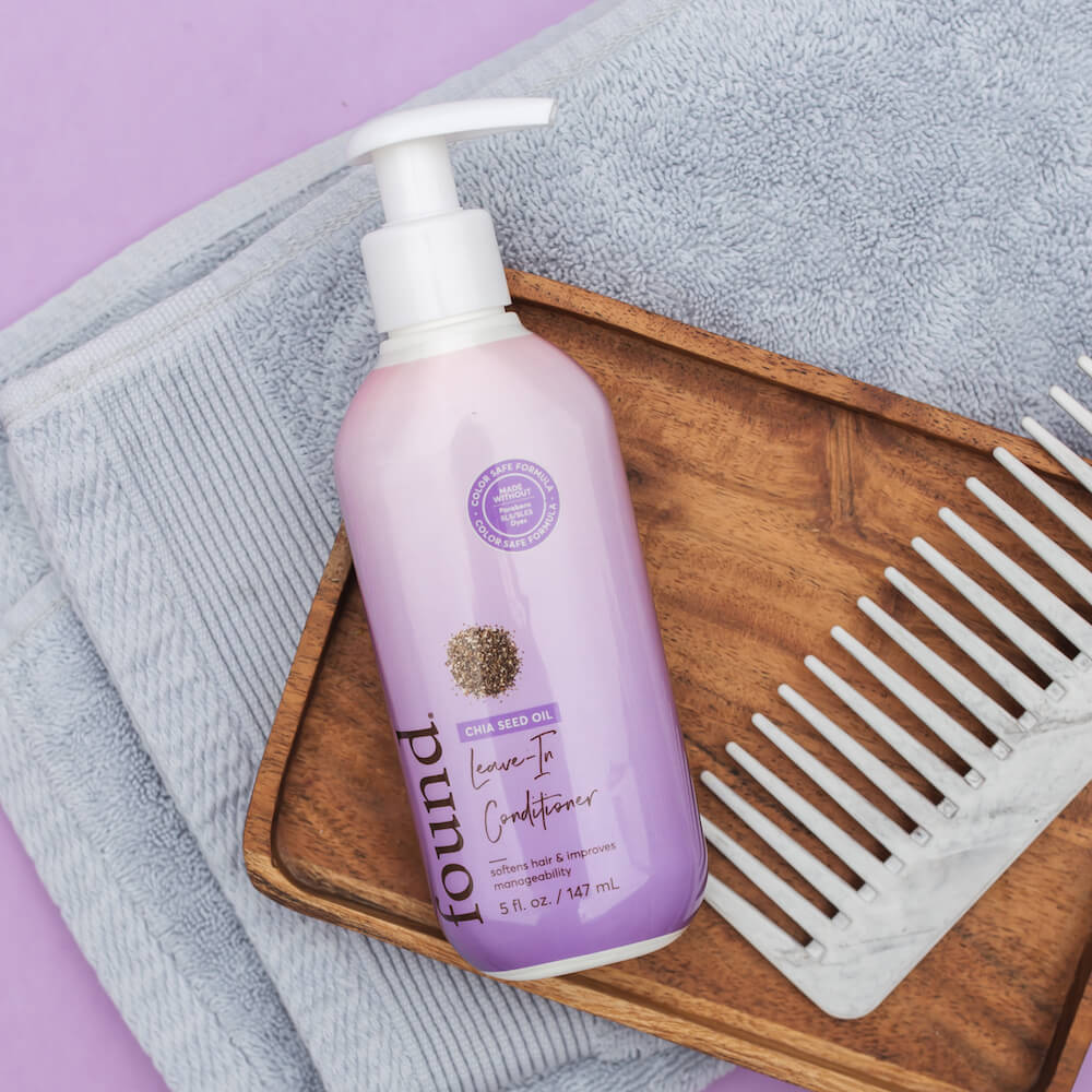 DISCOVER FOUND | CHIA SEED OIL LEAVE-IN CONDITIONER