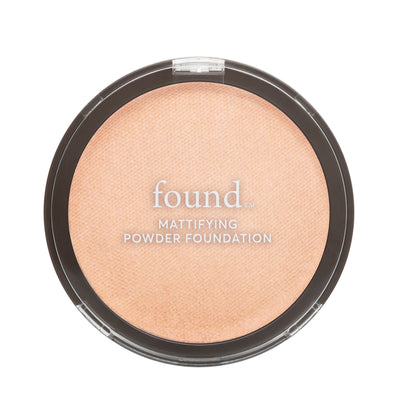 Mattifying Powder Foundation - 110 Porcelain-pressed-powder