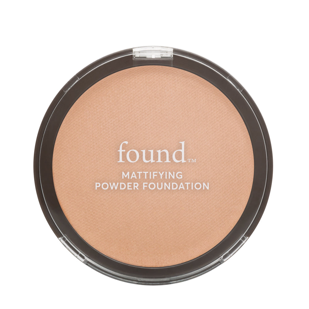 MATTIFYING POWDER FOUNDATION, GOLDEN MEDIUM
