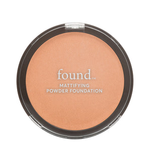 160 Tan-pressed-powder | MATTIFYING POWDER FOUNDATION, TAN