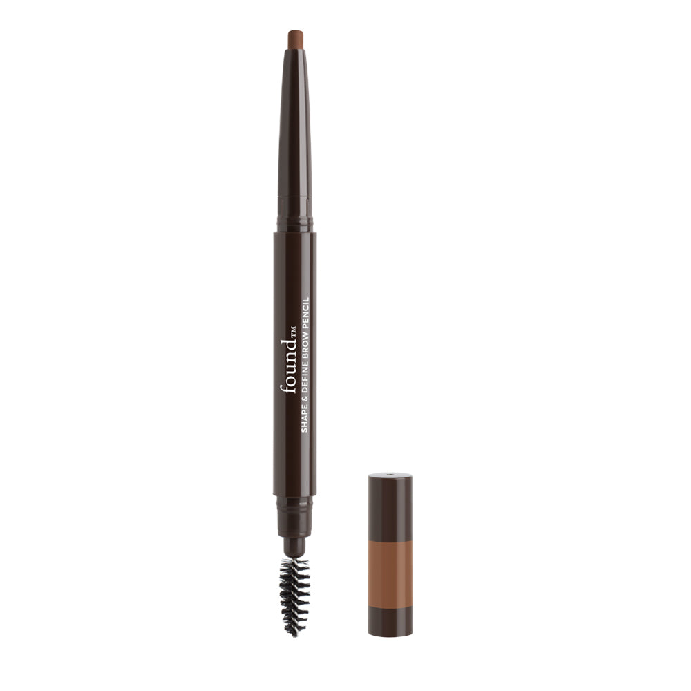SHAPE & DEFINE BROW PENCIL, MEDIUM BROWN