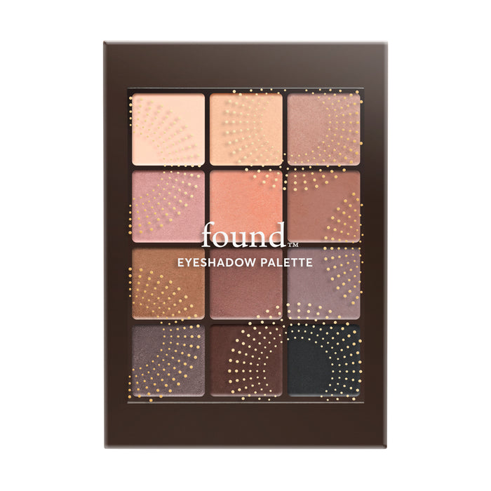 12 PIECE EYESHADOW PALETTE, NUDE