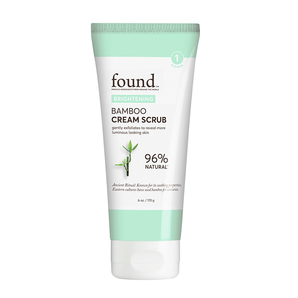 BRIGHTENING BAMBOO CREAM SCRUB
