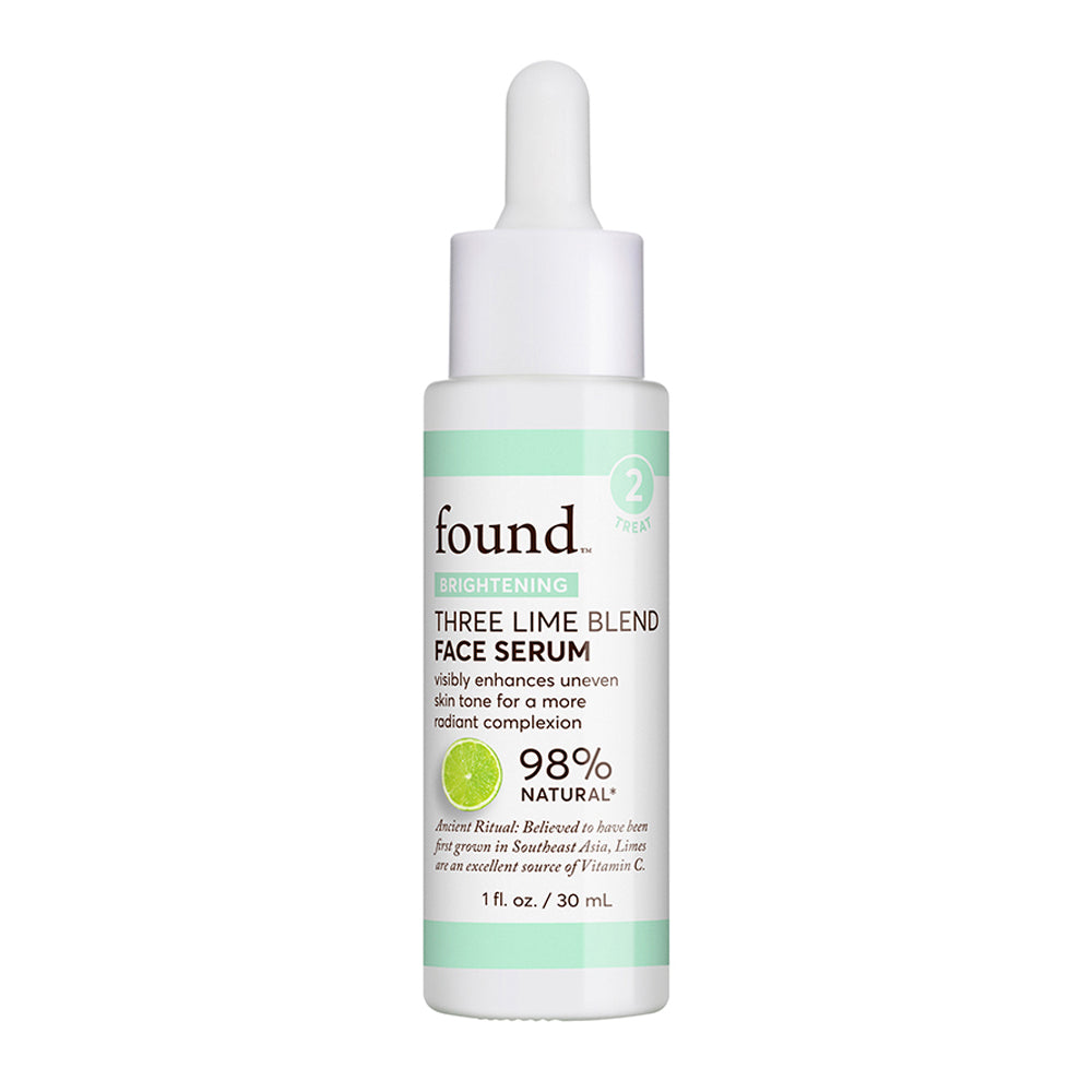 BRIGHTENING THREE LIME BLEND FACE SERUM