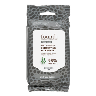 Eucalyptus Detoxifying Face Wipes - Default Title
