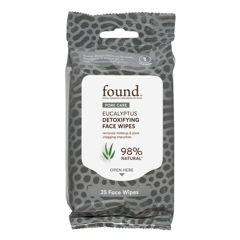 PORE CARE EUCALYPTUS DETOXIFYING FACE WIPES
