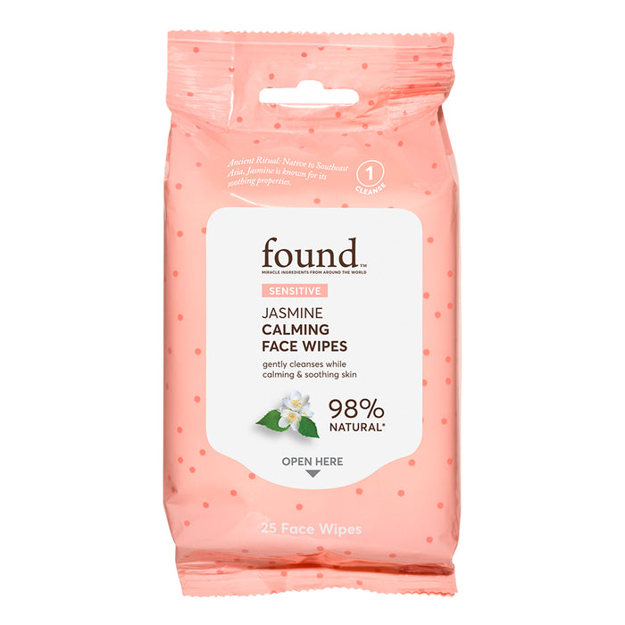 SENSITIVE JASMINE CALMING FACE WIPES