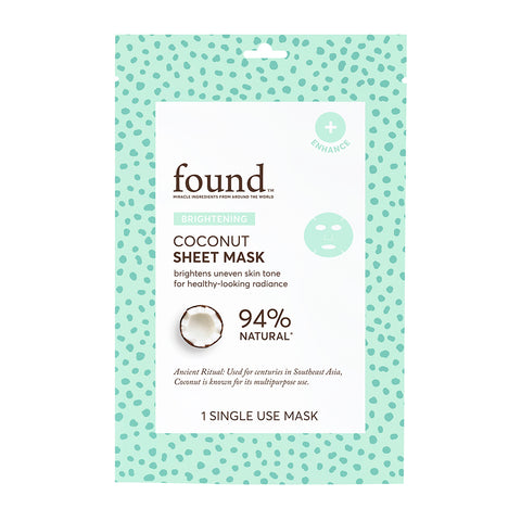 BRIGHTENING COCONUT SHEET MASK