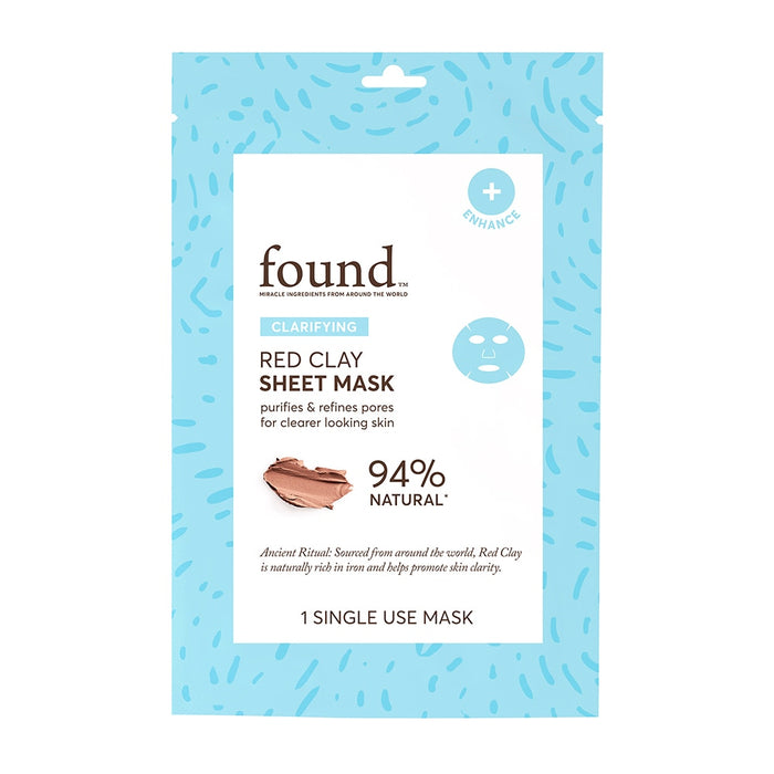 CLARIFYING RED CLAY SHEET MASK