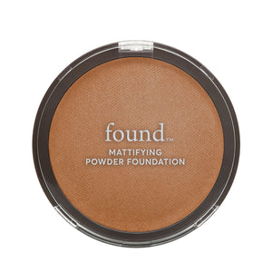 185 Medium Rich-pressed-powder | MATTIFYING POWDER FOUNDATION, MEDIUM RICH