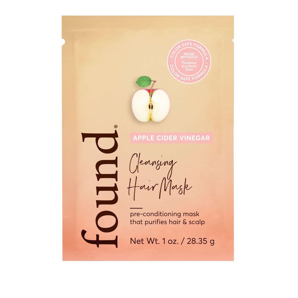 Discover Found | APPLE CIDER VINEGAR CLEANSING HAIR MASK (Packet)
