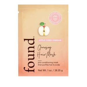 APPLE CIDER VINEGAR CLEANSING HAIR MASK (Packet)