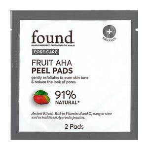 FRUIT AHA PEEL PADS (2 ct)