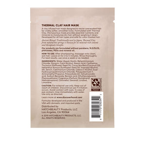 Thermal Clay Hair Mask