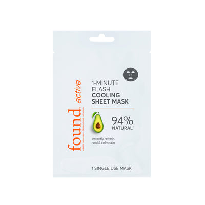 Active 1-Minute Flash Cooling Sheet Mask, 3 Pack - Default Title
