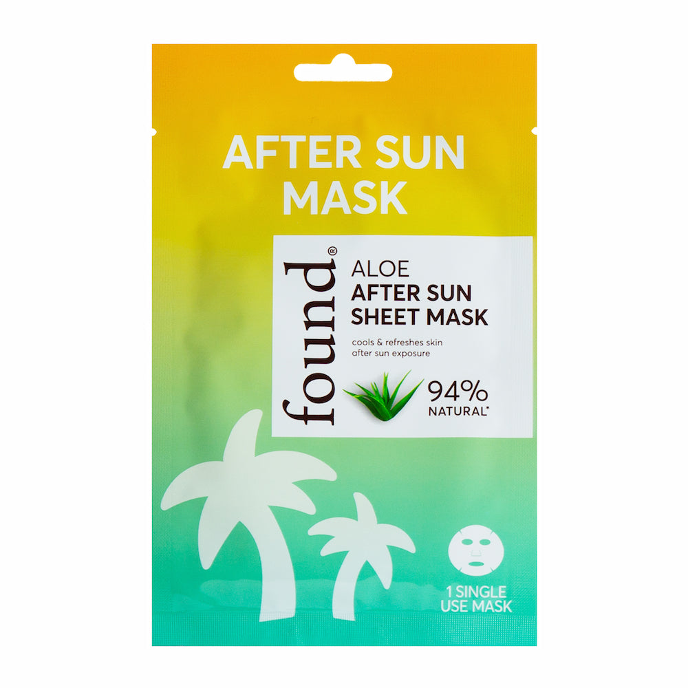 Discover Found | Aloe After Sun Sheet Mask