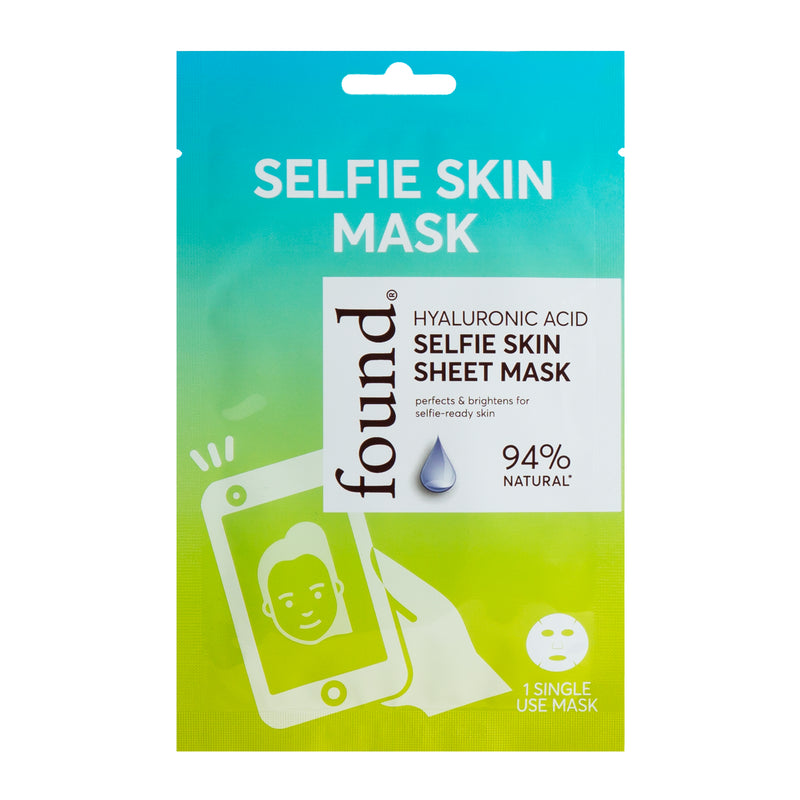 Discover Found | HYALURONIC ACID SELFIE SKIN SHEET MASK