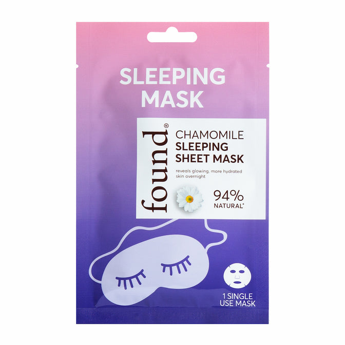 Discover Found | Chamomile Sleeping Sheet Mask