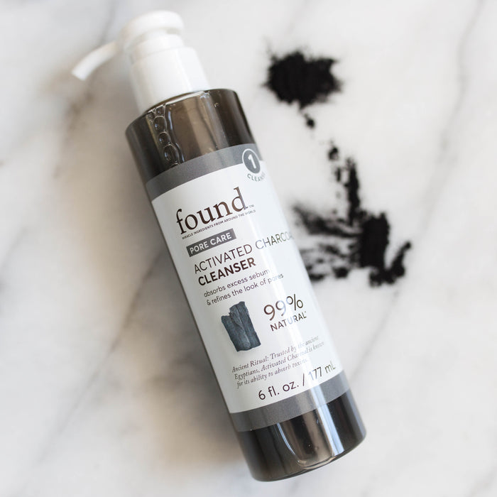 Activated Charcoal Cleanser Lifestyle Image