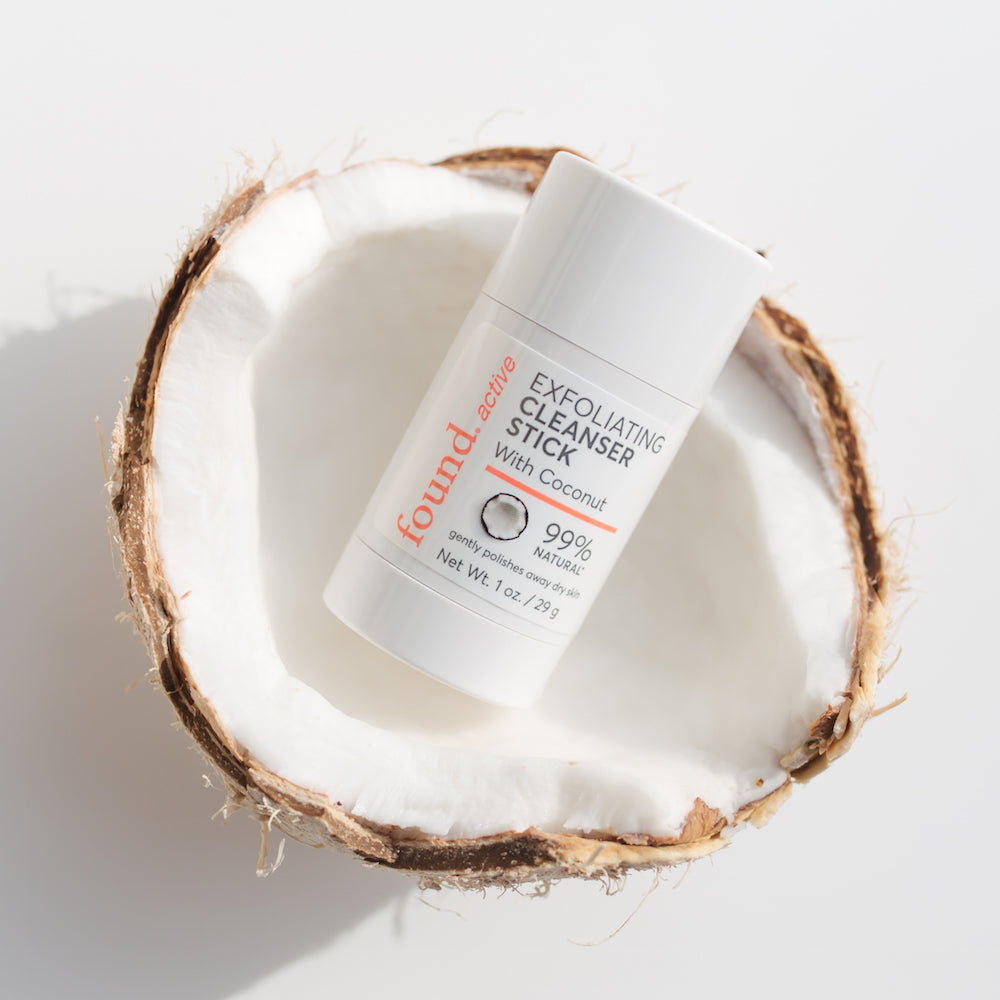 Discover Found | Active Exfoliating Cleansing Stick with Coconut
