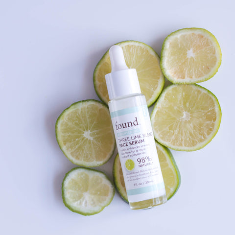 THREE LIME BLEND FACE SERUM
