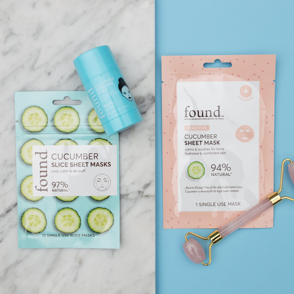 Discover Found | CUCUMBER SLICE SHEET MASK
