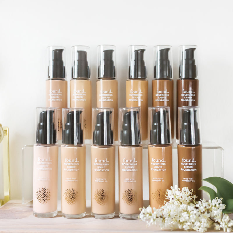 DISCOVER FOUND | NOURISHING LIQUID FOUNDATION