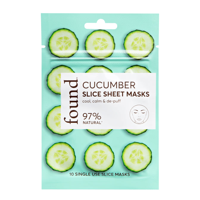 CUCUMBER SLICE SHEET MASK