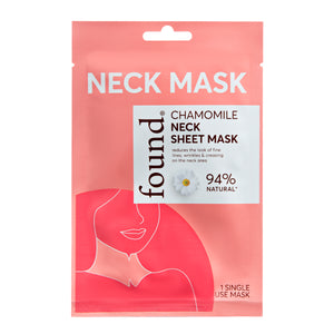 Chamomile Neck Sheet Mask