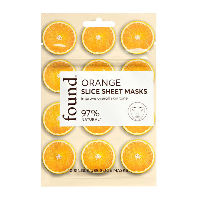 ORANGE SLICE SHEET MASK