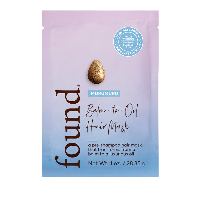 Found Haircare Murumuru Balm to Oil Hair Mask