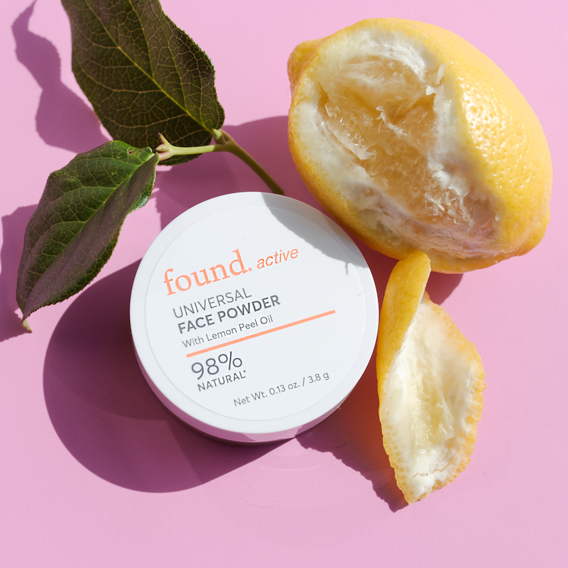 Discover Found | Active Universal Face Powder With Lemon Peel Oil