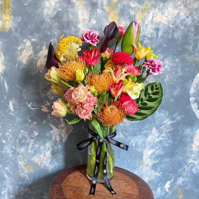 6 Times over 6 Months Subscription Bespoke Vase Arrangement