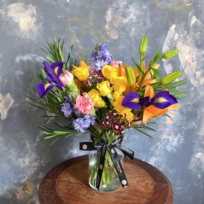 Bespoke Vase - Small Bespoke Flower Vase Arrangement - Flourish by Charlene