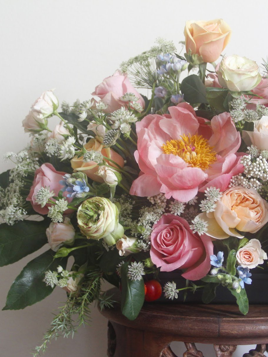 Chinoiserie - Flower Table Arrangements - Flourish by Charlene