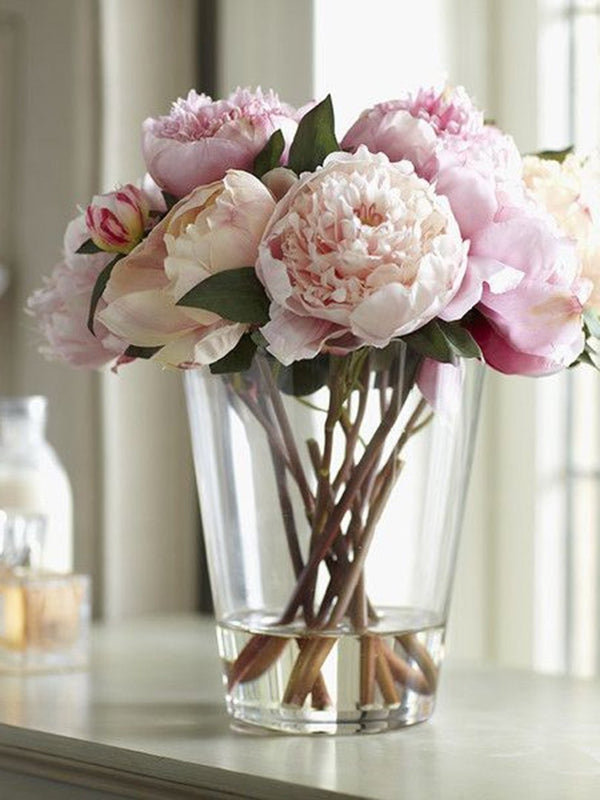 Fluffy Peonies - Peonies in Vase - Peonies Bouquet - Flourish by Charlene