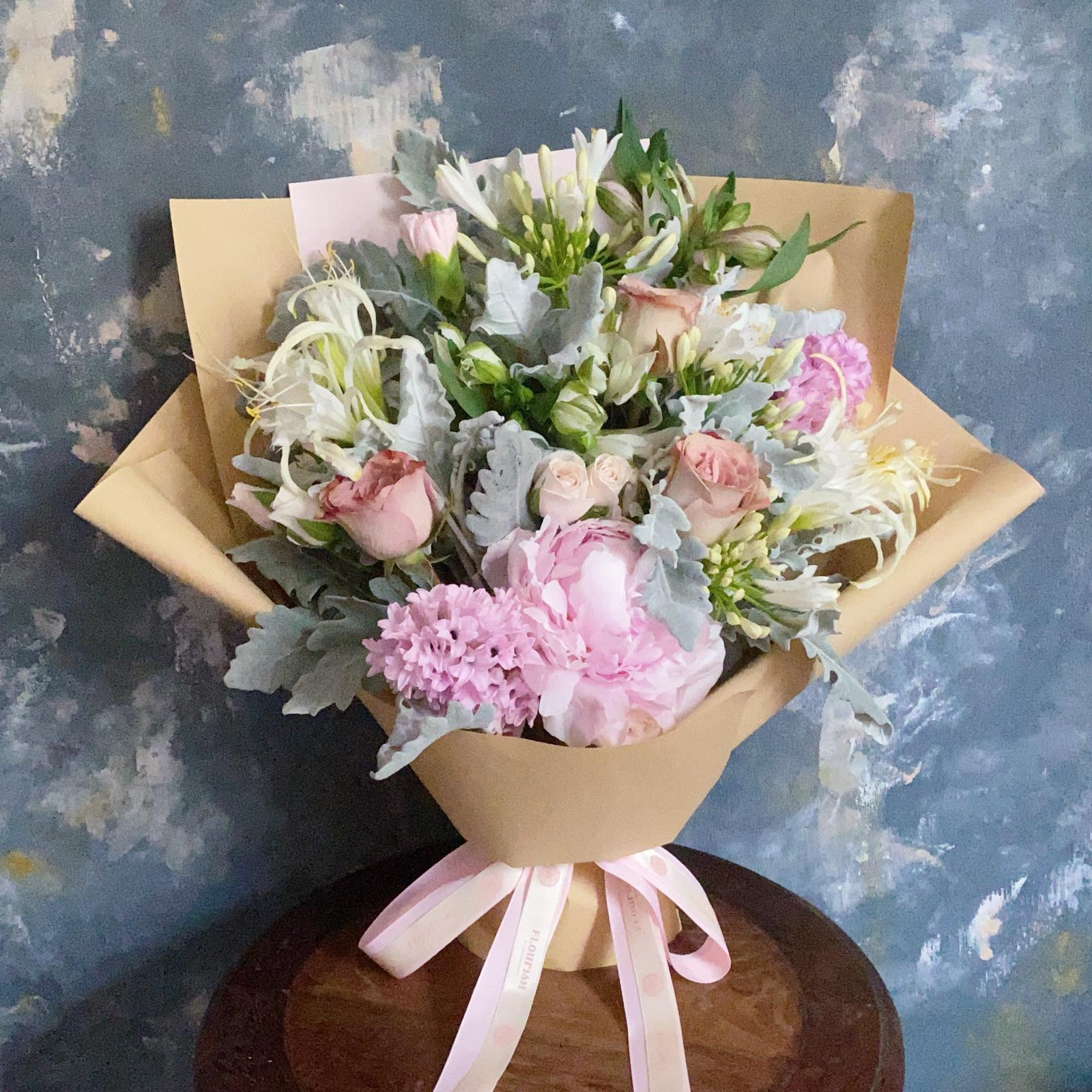 Medium Bespoke Flower Bouquet - Flourish by Charlene