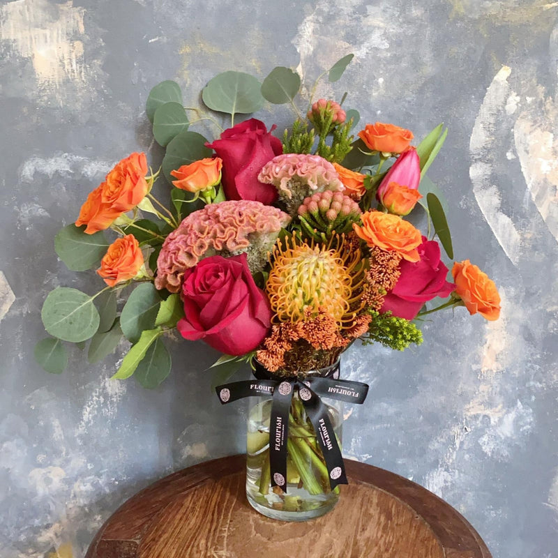 Starburst - Flower Vase Arrangement - Flourish by Charlene