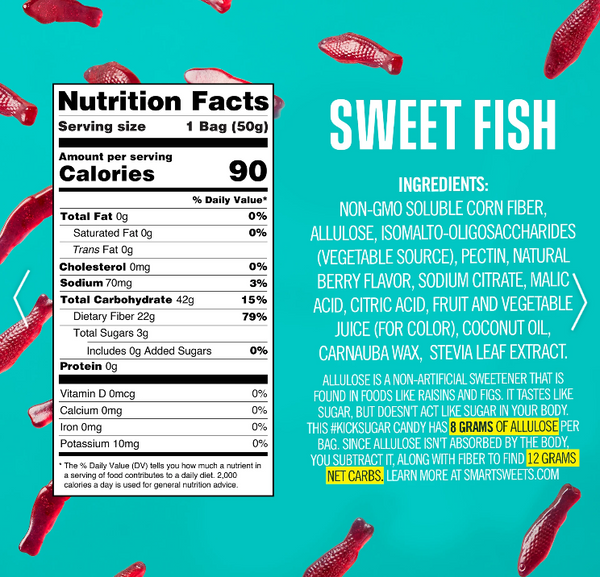 Smart Sweets Sweet Fish Gummy