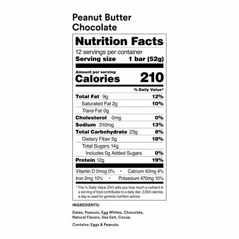 RXBAR Peanut Butter Chocolate