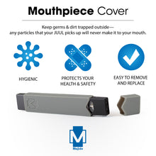Grey - Majide Ultra Thin Vapor Case Compatible with JUUL | 3-in-1 Protection Technology and Hybrid Drop Protection - Never Lose Your Device Again!